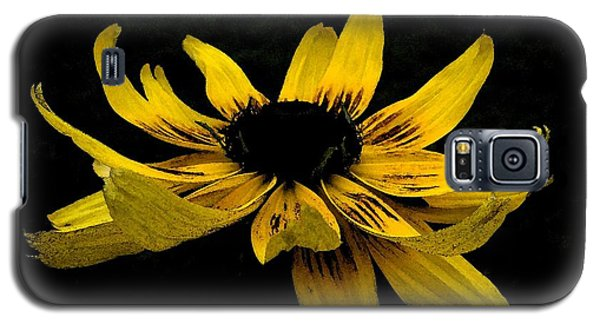Galaxy S5 Case featuring the photograph  Black Eyed Susan Suspense by Ecinja