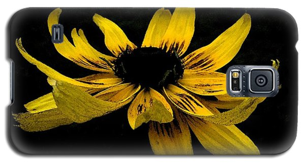 Black Eyed Susan Suspense Galaxy S5 Case by Ecinja