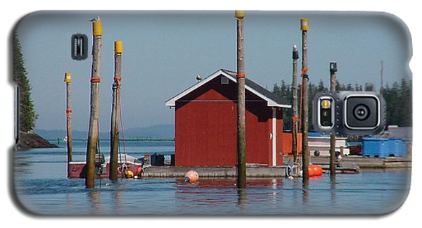 Floating Fish Shack Bay Of Fundy Nb Galaxy S5 Case