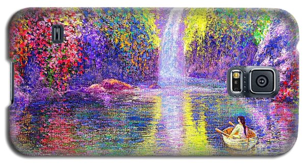 Floating Galaxy S5 Case by Jane Small