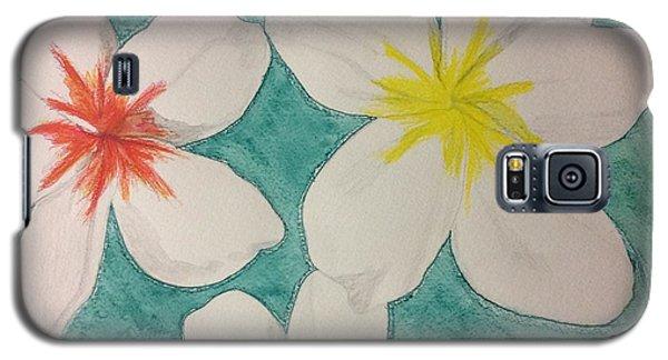 Floating Plumeria Galaxy S5 Case