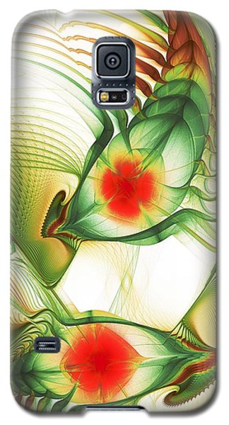 Galaxy S5 Case featuring the digital art Floating Thoughts by Anastasiya Malakhova