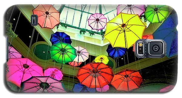 Floating Umbrellas In Las Vegas  Galaxy S5 Case by Susan Stone