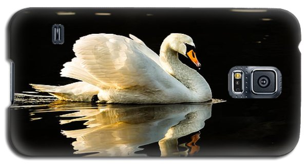 Galaxy S5 Case featuring the photograph Floats On Peaceful Water by Rose-Maries Pictures