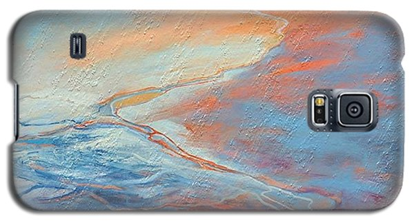 Galaxy S5 Case featuring the painting Flood by Elizabeth Coats