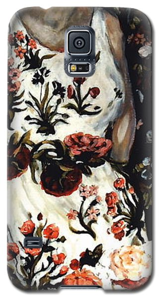 Flora Galaxy S5 Case by Carrie Joy Byrnes