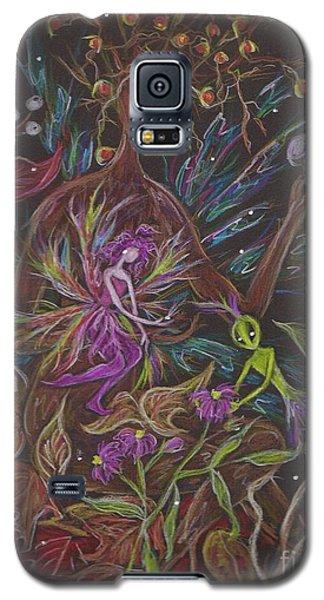 Flora Galaxy S5 Case by Dawn Fairies