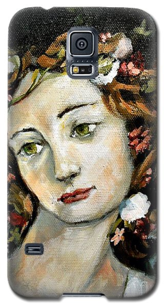 Flora Detail Galaxy S5 Case