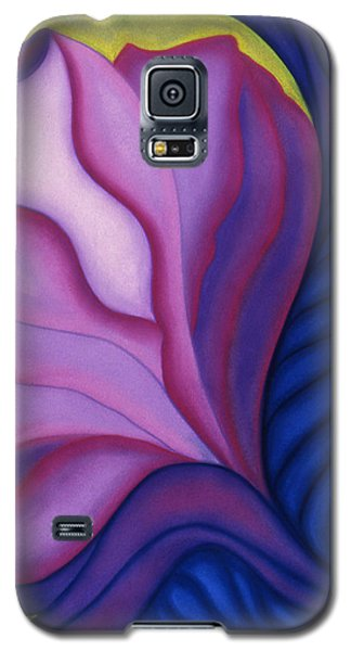 Galaxy S5 Case featuring the pastel Flora by Susan Will