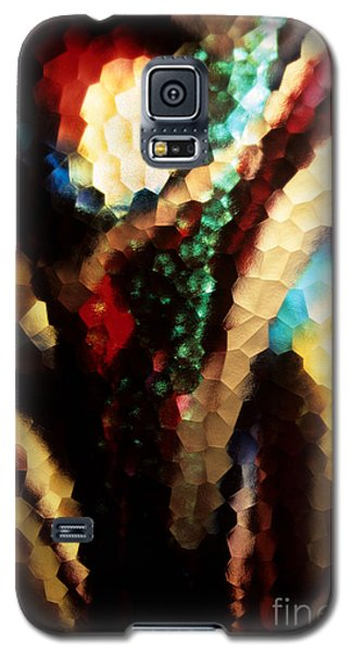 Galaxy S5 Case featuring the photograph Floral Abstract I by Sharon Elliott