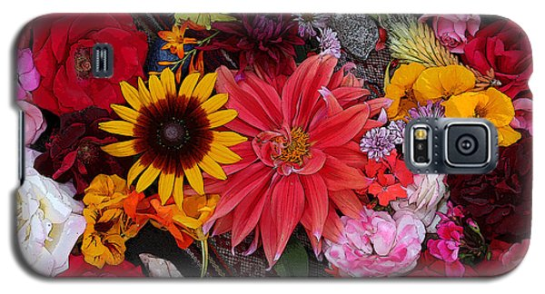 Floral Bounty 2 Galaxy S5 Case by Jeanette French