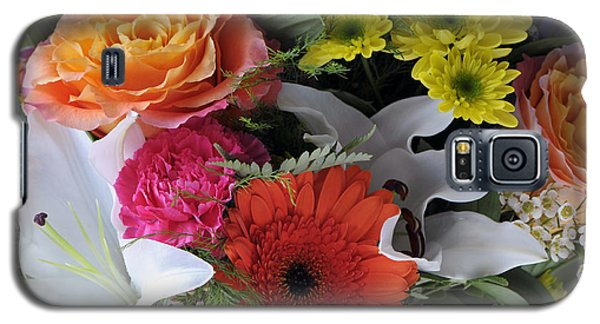 Floral Bouquet 7 Galaxy S5 Case