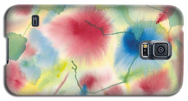 Floral Burst Galaxy S5 Case