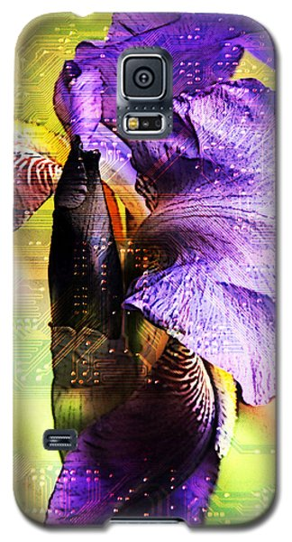 Floral Circuit Galaxy S5 Case