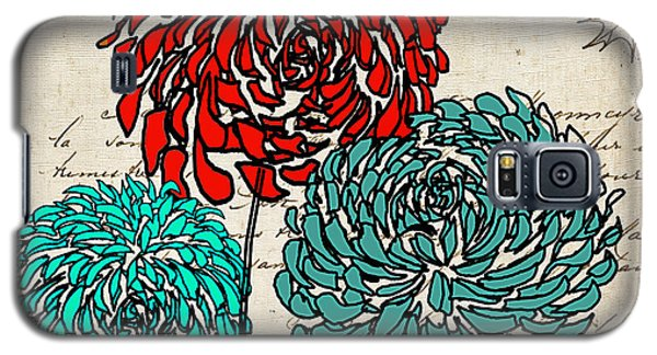 Floral Delight Iv Galaxy S5 Case by Lourry Legarde