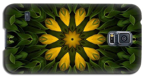 Floral Fantasy - 33 Galaxy S5 Case by Hanza Turgul