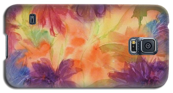 Floral Fantasy Galaxy S5 Case by Ellen Levinson