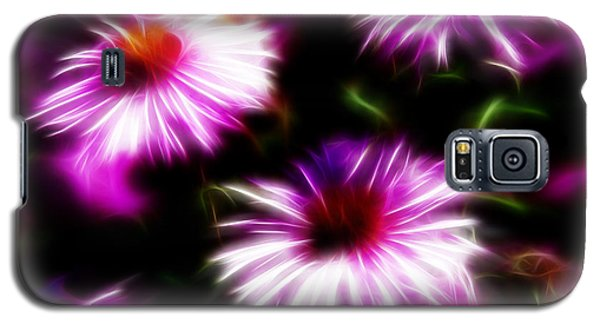Galaxy S5 Case featuring the photograph Floral Fireworks by Selke Boris