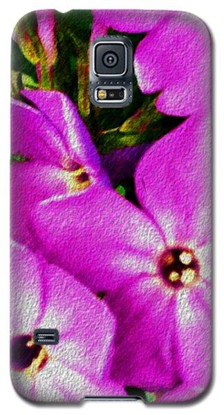 Galaxy S5 Case featuring the digital art Floral Fun 012714 by David Lane