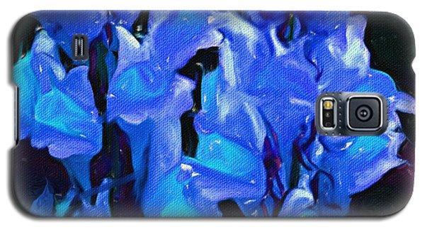 Galaxy S5 Case featuring the digital art Floral Fun B 012714 by David Lane