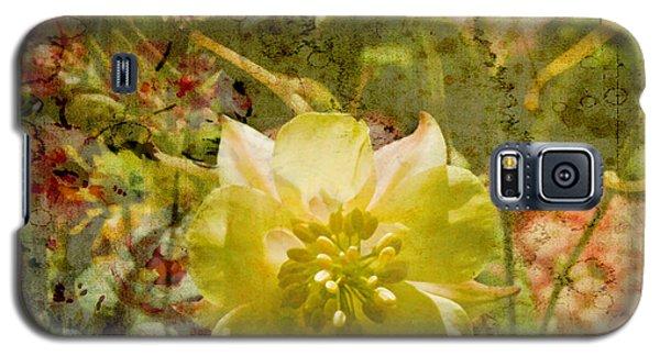 Galaxy S5 Case featuring the photograph Floral Haze by Liz  Alderdice