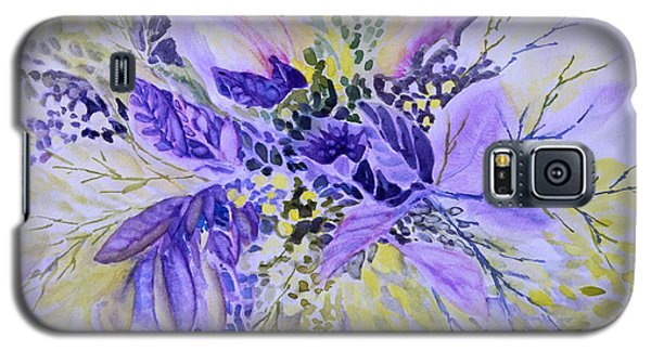 Floral In Mauve Galaxy S5 Case