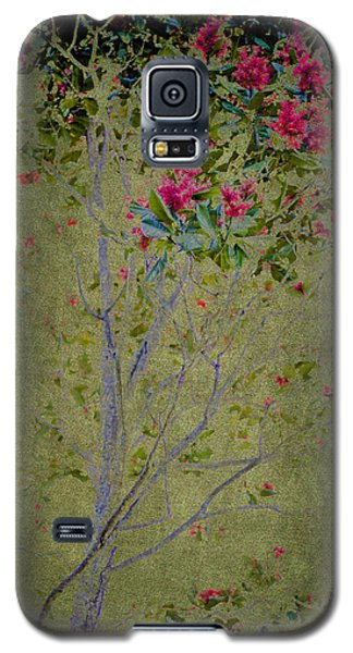 Floral Interlace Galaxy S5 Case by Linde Townsend