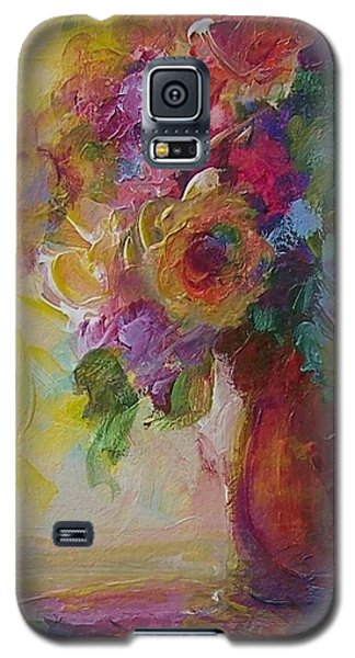 Floral Still Life Galaxy S5 Case by Mary Wolf