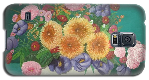 Floral Study Galaxy S5 Case by Hilda and Jose Garrancho
