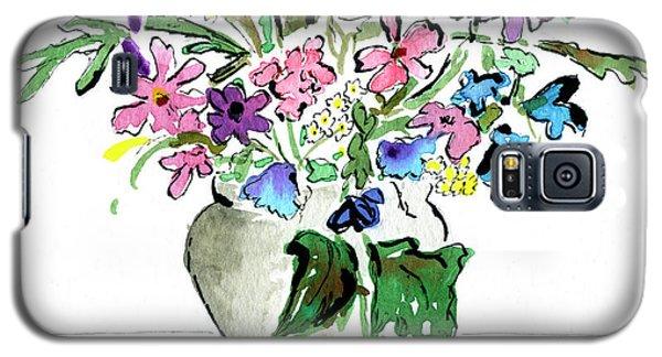 Floral Vase Galaxy S5 Case