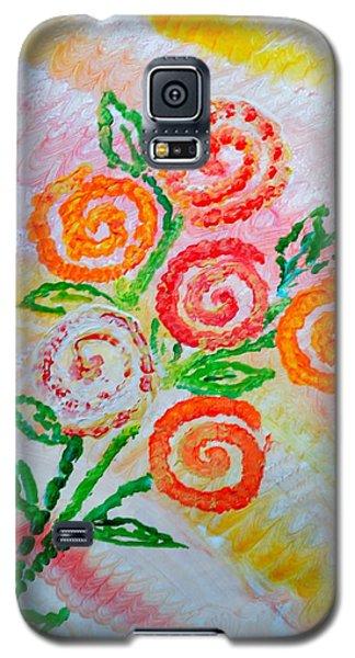 Floralen Traum Galaxy S5 Case by Sonali Gangane
