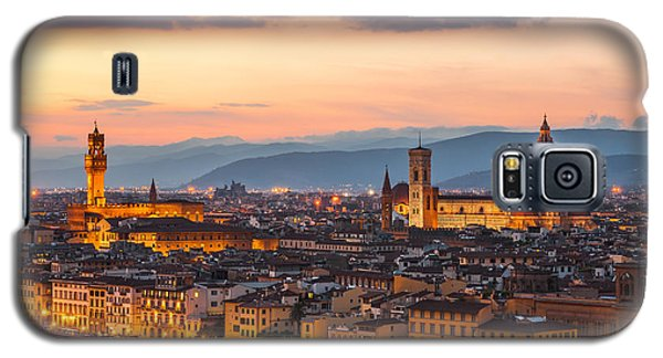 Florence At Dusk Galaxy S5 Case by Gurgen Bakhshetsyan