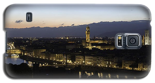 Florence At Night Galaxy S5 Case by Alex Dudley