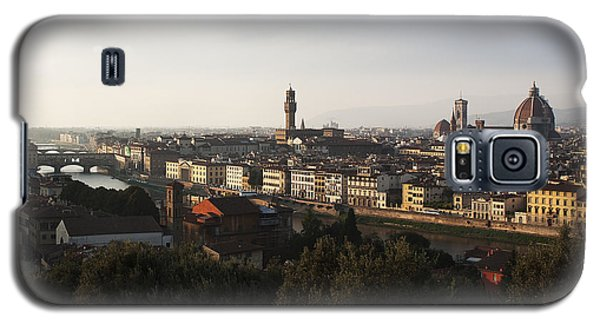 Florence Form The Piazza Michalengelo Galaxy S5 Case by Belinda Greb