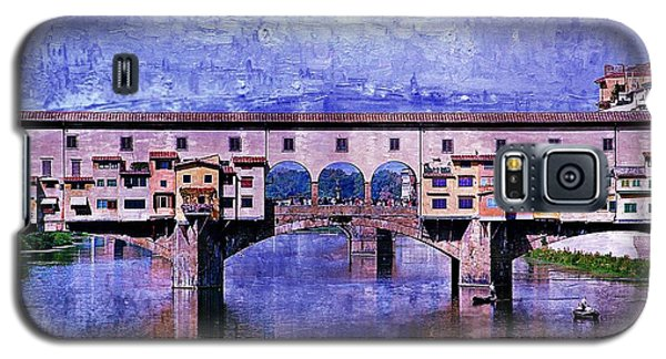 Galaxy S5 Case featuring the photograph Florence Italy by Kathy Churchman