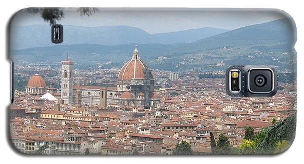 Galaxy S5 Case featuring the photograph Florence by Karin Thue