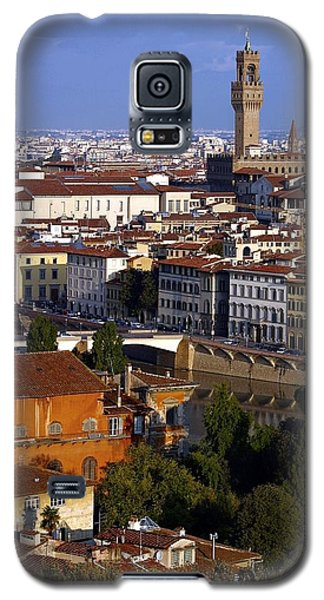 Galaxy S5 Case featuring the photograph Florence Morning 2 by Henry Kowalski