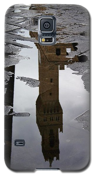 Galaxy S5 Case featuring the photograph Florence Reflection by Henry Kowalski