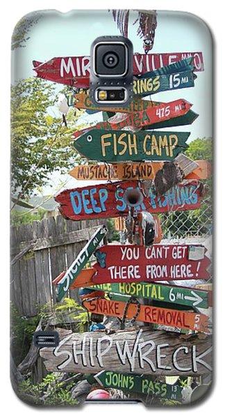 Florida Crossroads Galaxy S5 Case by Dodie Ulery