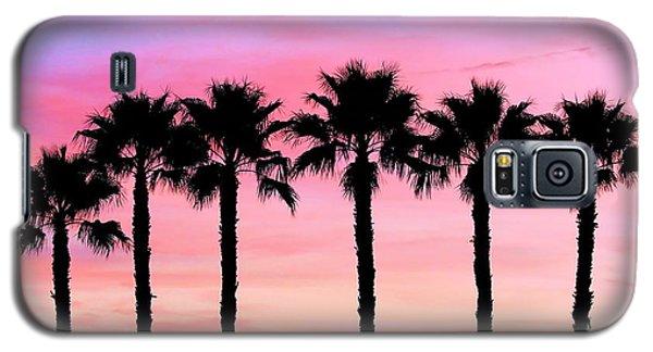 Florida Palm Trees Galaxy S5 Case by Elizabeth Budd