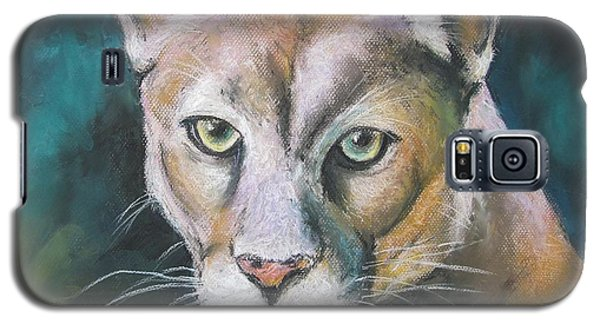 Galaxy S5 Case featuring the painting Florida Panther by Melinda Saminski
