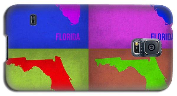 Florida Pop Art Map 1 Galaxy S5 Case by Naxart Studio