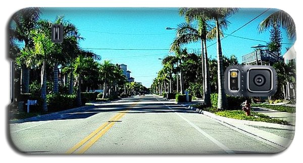 Sunny Galaxy S5 Case - Florida Drive by Jonathan Keane