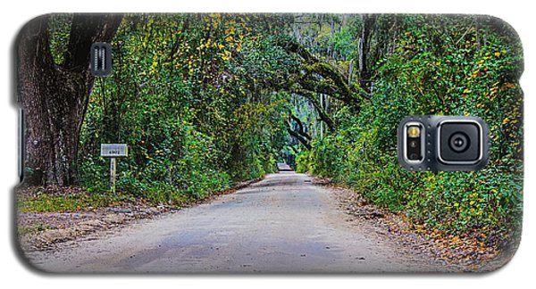 Florida Road Galaxy S5 Case by Tom Culver