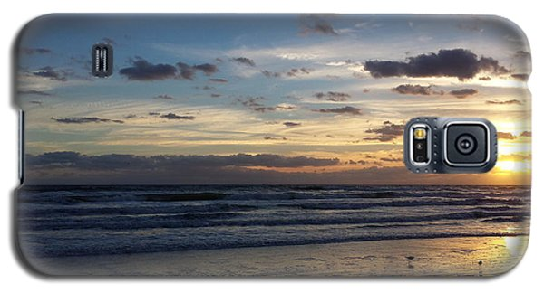 Galaxy S5 Case featuring the photograph Florida Sunrise by Ally  White