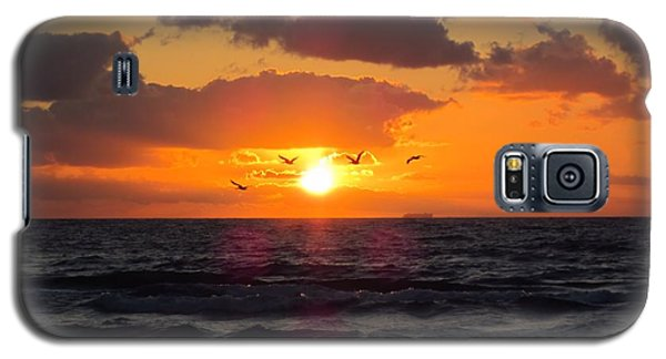 Florida Sunrise Galaxy S5 Case