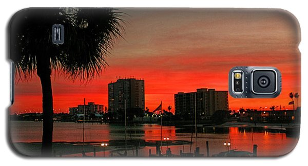 Galaxy S5 Case featuring the photograph Florida Sunset by Hanny Heim