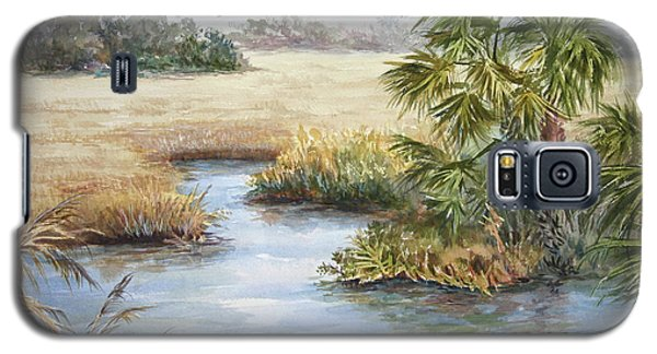 Galaxy S5 Case featuring the painting Florida Wilderness IIi by Roxanne Tobaison