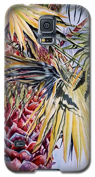 Galaxy S5 Case featuring the painting Florida's Pride by Roxanne Tobaison