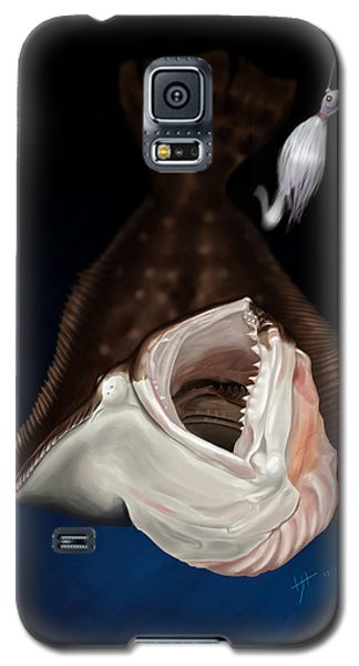 Flounder Strike Galaxy S5 Case
